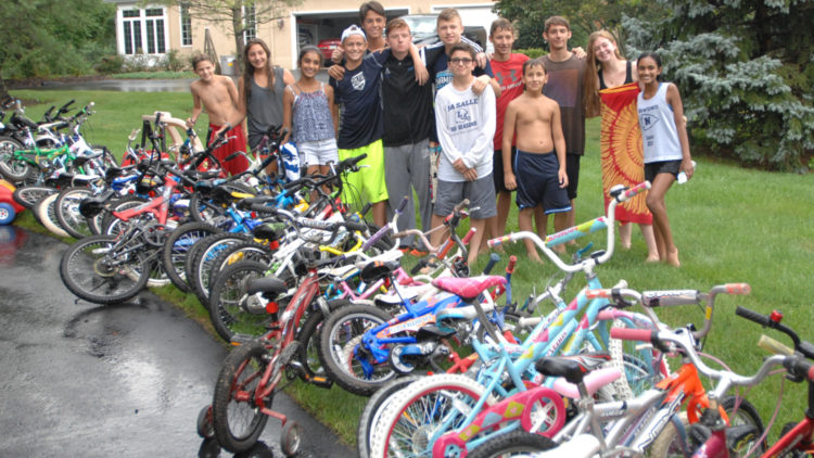 July 2016 Bike Drive – we broke 100!