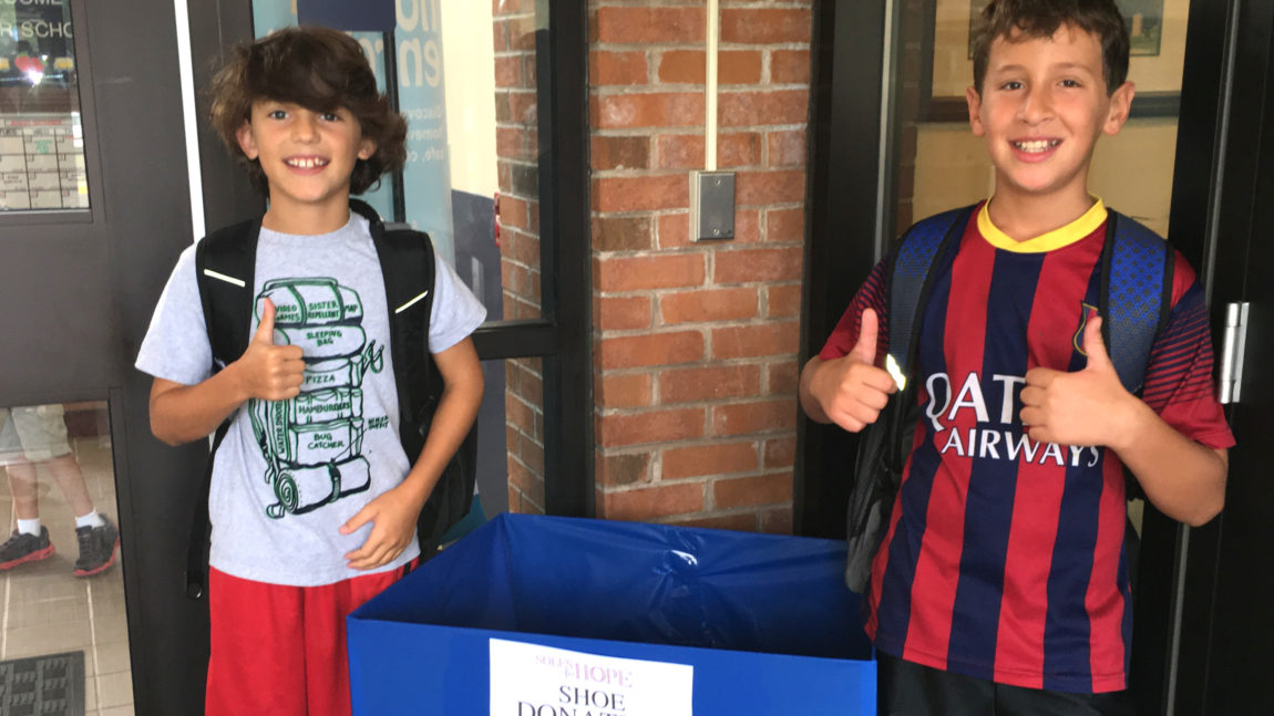 Soles for Hope – over 1,700 pairs of shoes collected!
