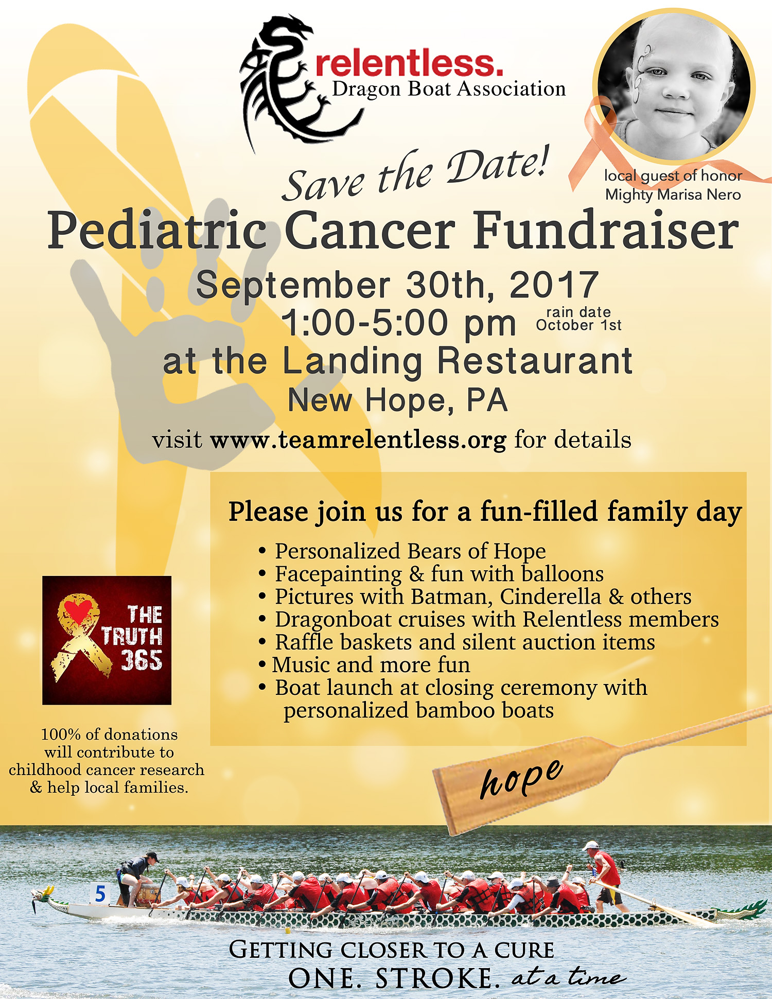cancer fundraiser flyer