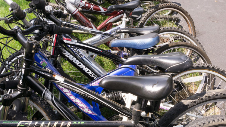 85 bikes collected and donated to Bike Exchange in Trenton